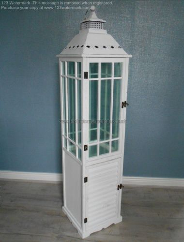 Large Square Lantern with Cupboard
